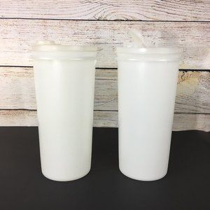 Tupperware Handolier Pitcher Containers (2)